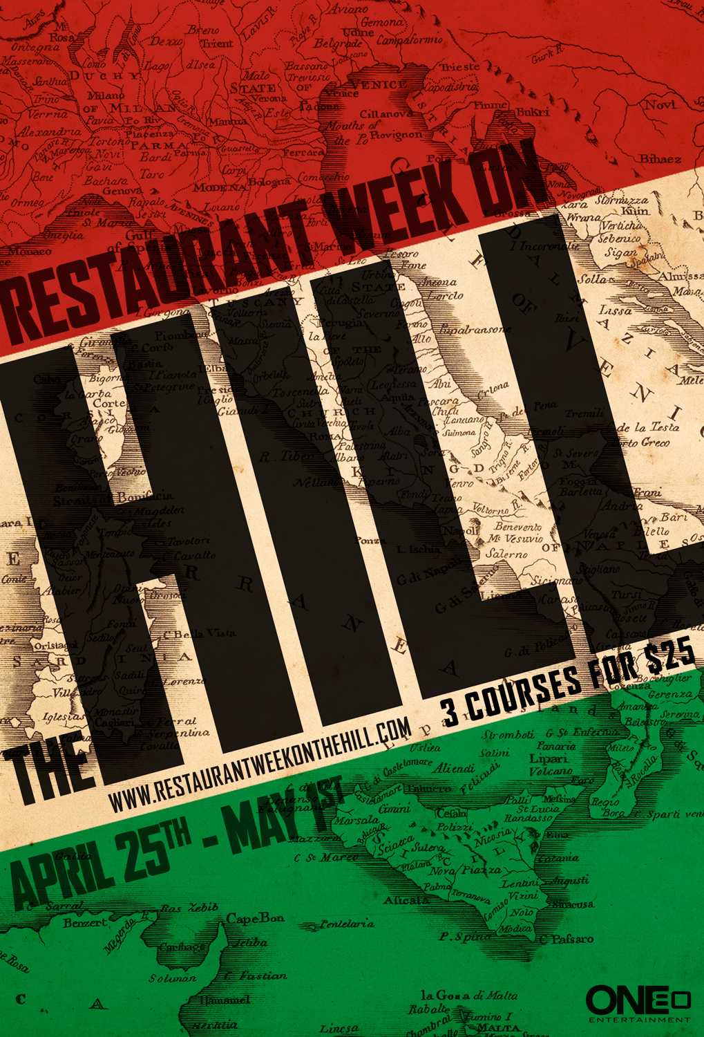 Restaurant Week on the Hill Campaign